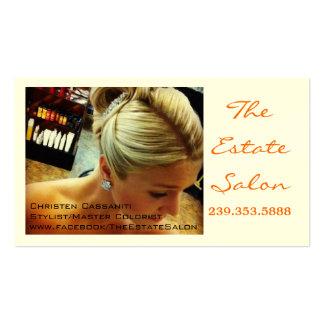 Salon Beauty Business Card