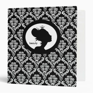 Salon Binder Appointment Book Woman s Silhouette C