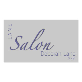 Salon Double-Sided Standard Business Cards (Pack Of 100)