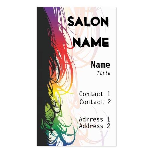 Salon Business Card - Customized