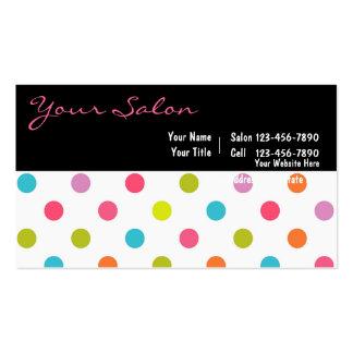 Salon Business Cards Large Format