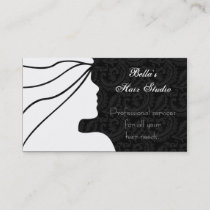 Salon businesscards appointment card