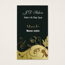 Salon businesscards business card