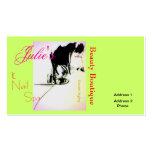 Salon Card Business Card