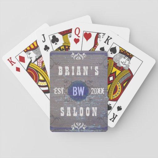 Salón casero adaptable clásico de la cerveza de la cartas de póquer