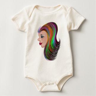 Salon Color Baby Bodysuit