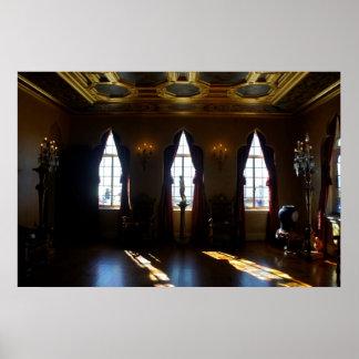 Salón de baile de Ringlings Póster
