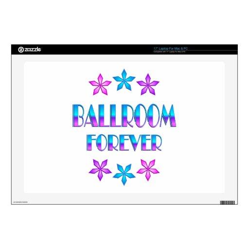 Salón de baile para siempre portátil calcomanía