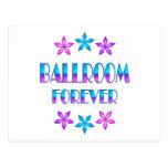 Salón de baile para siempre postales