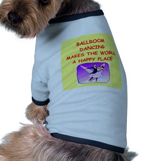 salón de baile ropa de perros