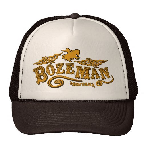 Salón de Bozeman Gorra