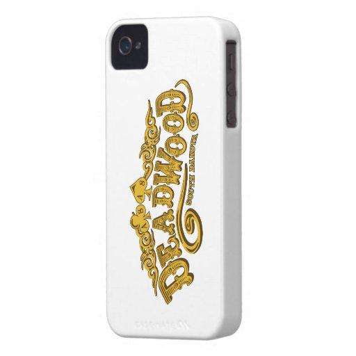 Salón de Deadwood iPhone 4 Cárcasa