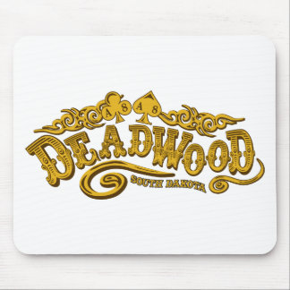 Salón de Deadwood Tapete De Ratones
