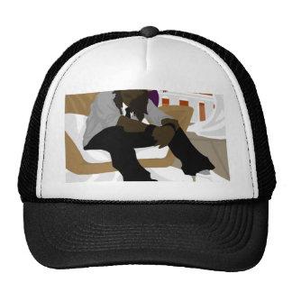 Salón de la barandilla gorras