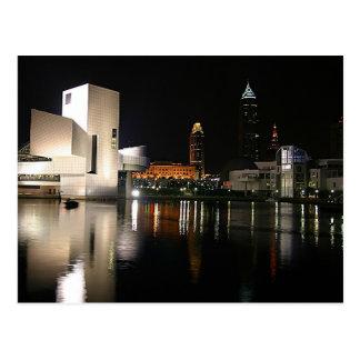 Salón de la fama Cleveland Ohio del rock-and-roll Postales