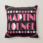 Salón de Martini Cojin