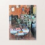 Salón de pelo puzzle con fotos