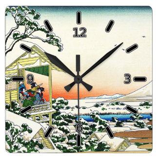 Salón de té en el reloj del té de Koishikawa (con