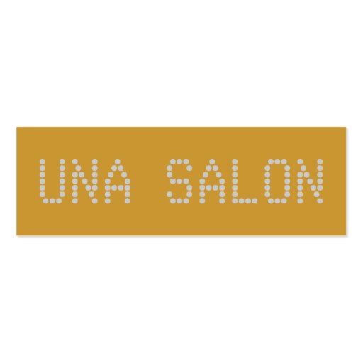 SALÓN DE UNA TARJETAS DE VISITA MINI