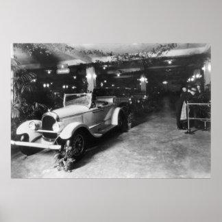 Salón del automóvil, 1920 posters