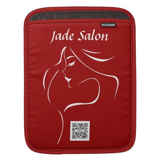 salón del jade de la plantilla de la manga del fundas para iPads
