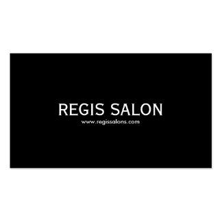 SALÓN del REGIS, www.regissalons.com Tarjetas De Visita