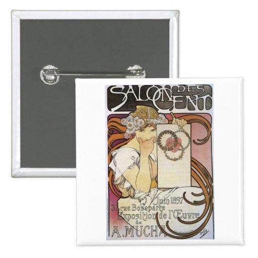 Salon des Cent. ~ Alphonse Mucha Pins