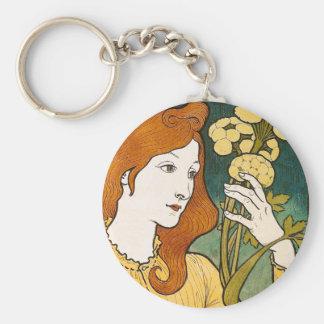 Salon des Cent Eugène Grasset Keychain