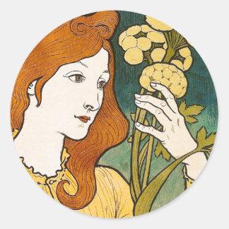 Salon des Cent, Eugène Grasset Sticker