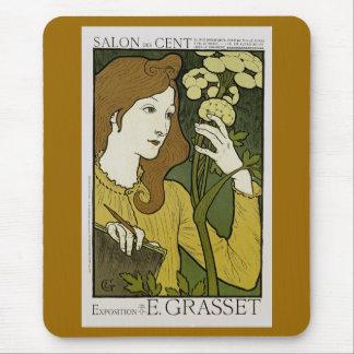 Salon des Cent ~ Exposition de E. Grasset Mouse Pad