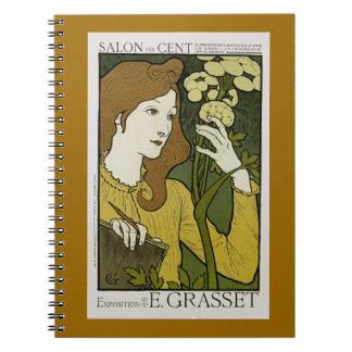 Salon des Cent ~ Exposition de E. Grasset Notebook
