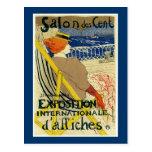 Salon des Cent ~ Exposition Internationale Post Card