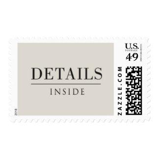 Salón - detalles dentro, negro y gris claro franqueo