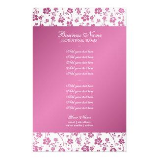 Salon Floral Pink Professional Flyer