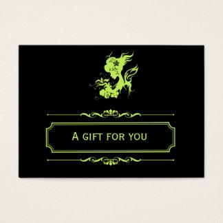 Salon Gift Certificate (Dark Olive Green)