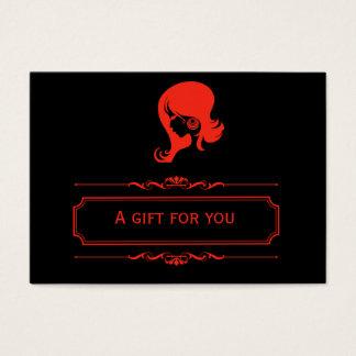Salon Gift Certificate (Firebrick)