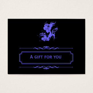 Salon Gift Certificate (Light Slate Blue)