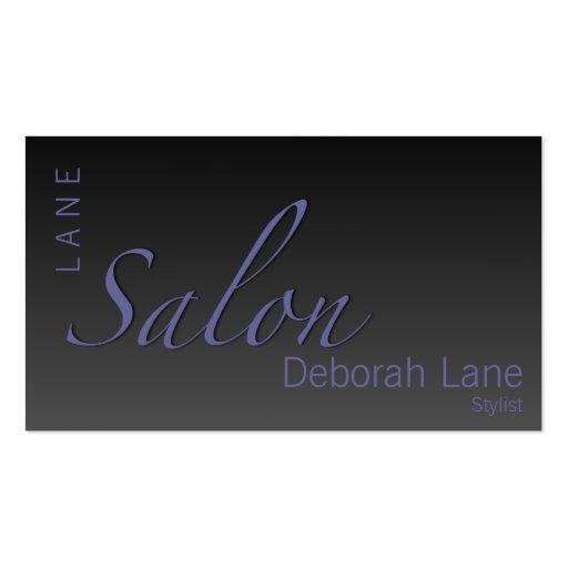 Salon Gradient Business Card Template