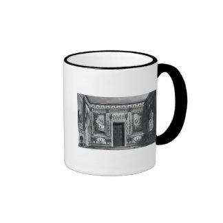 Salón griego, de 'arquitectónico taza de café