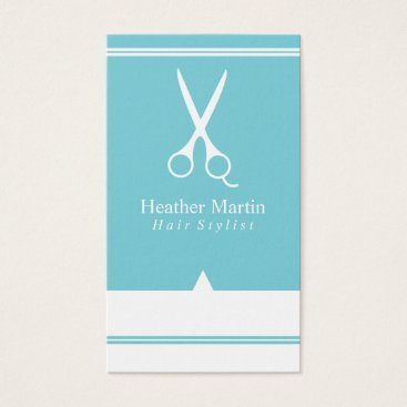 McTiffany Tiffany Aqua Salon Hair Stylist Appointment Cards Tiffany Blue
