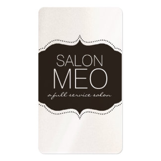 SALON MEO BUSINESS CARD