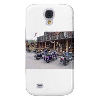 Salón occidental de las motocicletas de Harley Dav Funda Para Galaxy S4