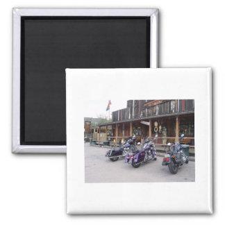 Salón occidental de las motocicletas de Harley Dav Imán