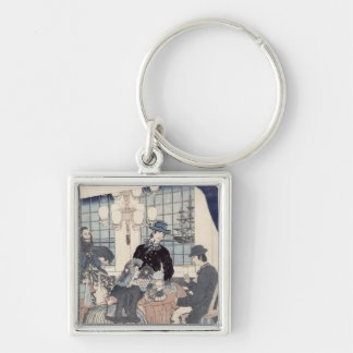 Salon of a house of foreign merchants at keychain