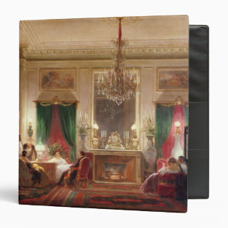 Salon of Princess Mathilde Bonaparte 3 Ring Binder