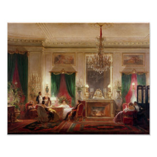 Salon of Princess Mathilde Bonaparte Poster