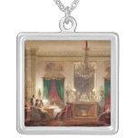 Salon of Princess Mathilde Bonaparte Square Pendant Necklace