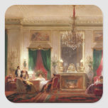 Salon of Princess Mathilde Bonaparte Square Sticker