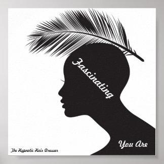 Salon Poster -Primer The Hypnotic Hair Dresser