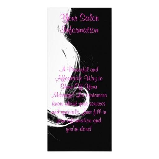 Salon Rack Card